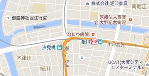 マップの位置設定